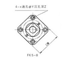 丝杠支架FK型